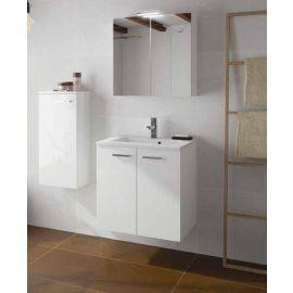 Meuble sous vasque Angelo Blanc brillant  2 portes photo du produit