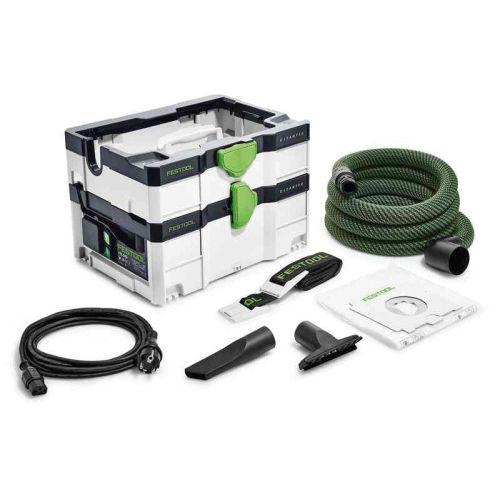 Aspirateur CLEANTEC CTL SYS 1000 W en boîte carton - FESTOOL - 575279 pas cher