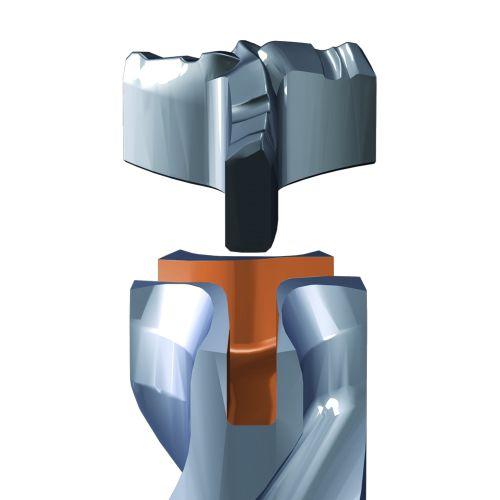 Foret béton SDS-Max diamètre 16 x 340 mm longueur utile 200 mm - multitaillants XT3 - SPIT - 225099 pas cher Secondaire 5 L