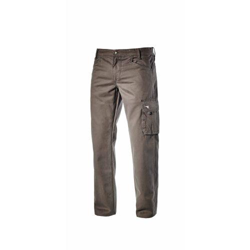 Pantalon TRADE ISO poudré bleu / beige / gris orage DIADORA photo du produit