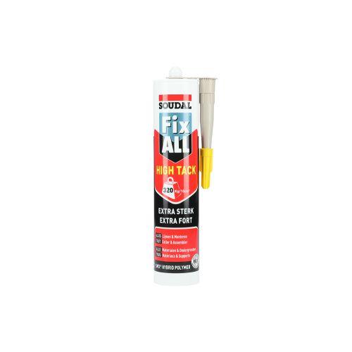 Mastic colle Fix All High Tack beigecartouche 290 ml - SOUDAL - 100271 pas cher Secondaire 4 L