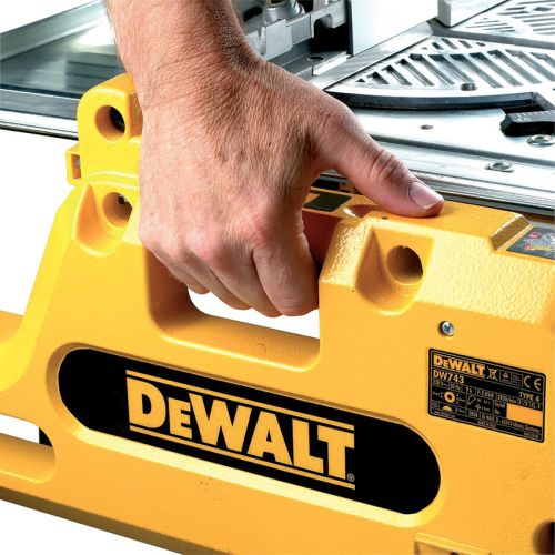 Scie à table et à onglet DW743N 1550 W - DEWALT - DW743N pas cher Secondaire 4 L