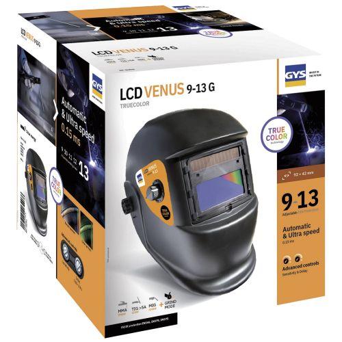 Masque GYS LCD VENUS 9/13 G photo du produit Secondaire 1 L