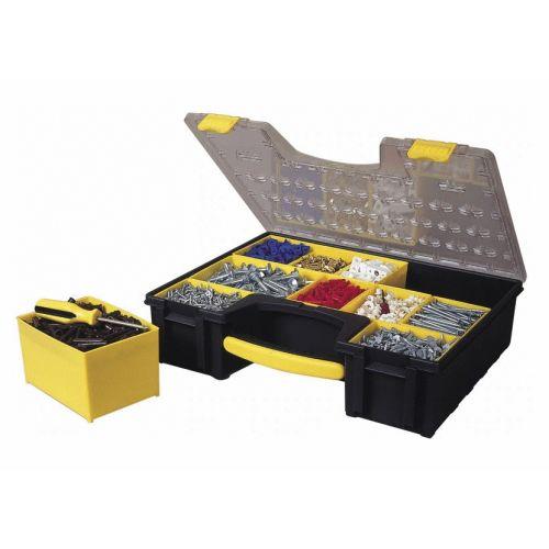 Boîte à outils de rangement à 8 compartiments Pro - STANLEY - 1-92-749 pas cher Secondaire 1 L