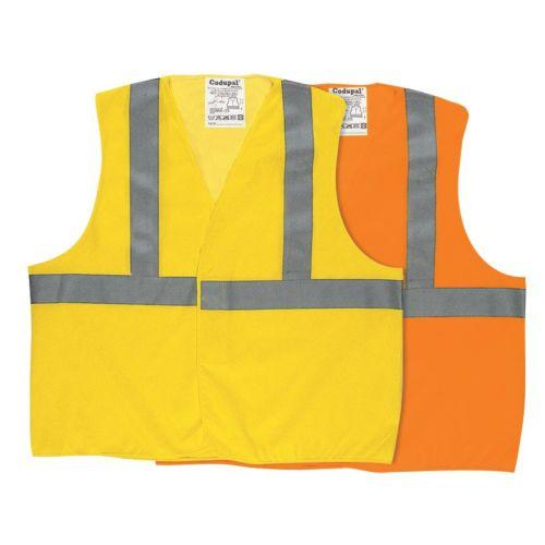 Gilet haute visibilite reseau jaune taille L - CODUPAL - 1380/JFL pas cher Principale L