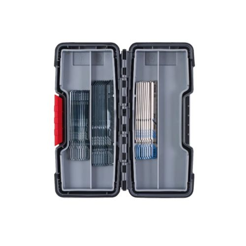 Kit de 30 lames de scie sauteuse Basic for Wood and Metal, Tough Box - BOSCH - 2607010903 pas cher