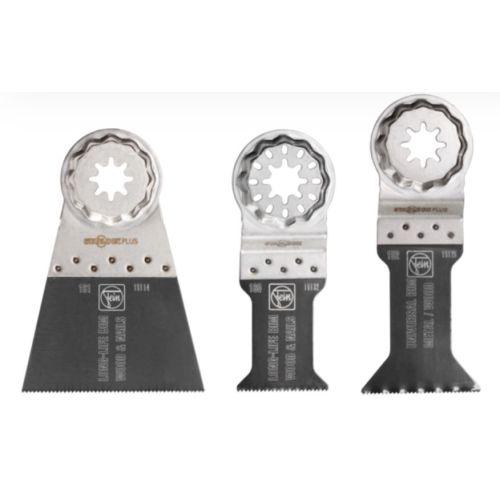 Set de 3 lames de scie E-Cut Combo pour outil multimaster - FEIN - 35222952030 pas cher Principale L