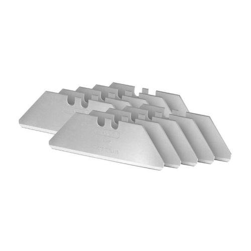 Étui de 10 lames de couteau sécurité à bouts arrondis - STANLEY - 2-11-987 pas cher Secondaire 2 L