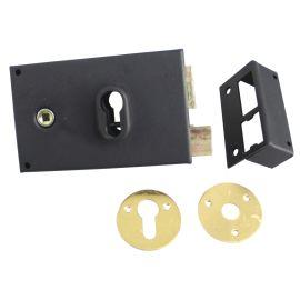 Monopoint en applique de grille pour cylindre européen photo du produit