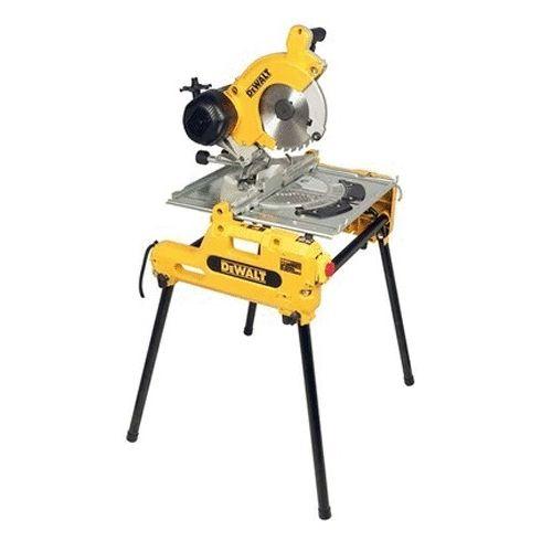 Scie à table et à onglet DW743N 1550 W - DEWALT - DW743N pas cher