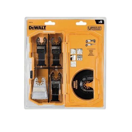 Coffret 5 lames multicutter Dewalt DT20715 photo du produit