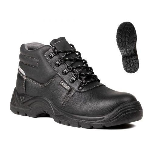 Chaussures de sécurité hautes en cuir fleur vachette AGATE II S3 SRC pointure 40 - COVERGUARD - 9AGH010040 pas cher Secondaire 1 L