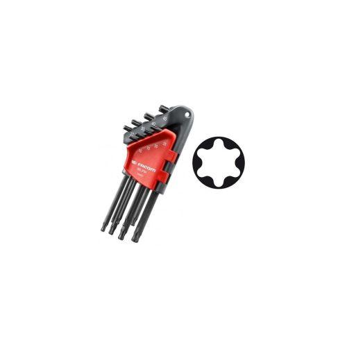 Jeu de 8 clés mâles coudées TORX® 89S.JP8APB photo du produit