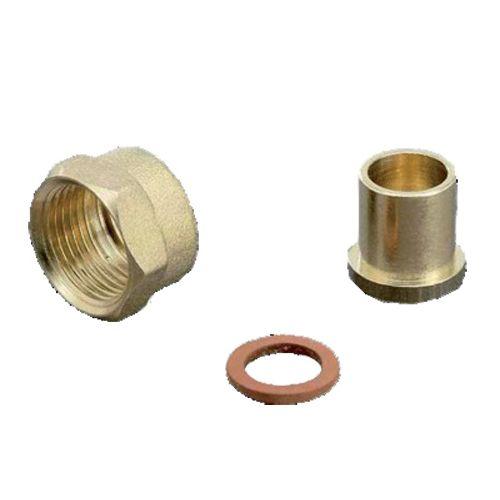 Raccord droit à braser sur cuivre 3/4 20 - BANIDES - 290460 pas cher Secondaire 1 L