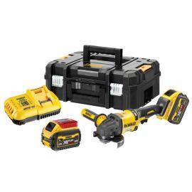 Meuleuse sans-fil 2,0 XR Flexvolt Dewalt DCG418T2 54 V + 2 batteries + chargeur + Tstak II pas cher