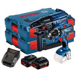Pack 18V 2 outils (GBH18-20/GSR18-28) 2x4Ah L-BOXX photo du produit Principale M