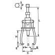 Extracteur à vis - SAM OUTILLAGE - 4851J3 pas cher Secondaire 2 S