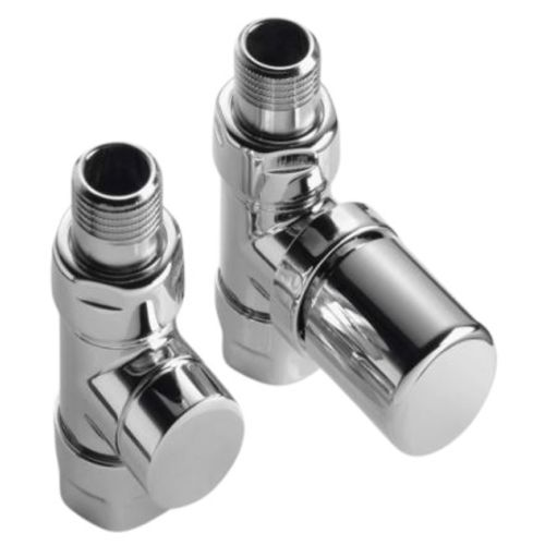 """Kit de robinetterie manuel thermostatisable Acova droit blanc 1/2"""" photo du produit"""