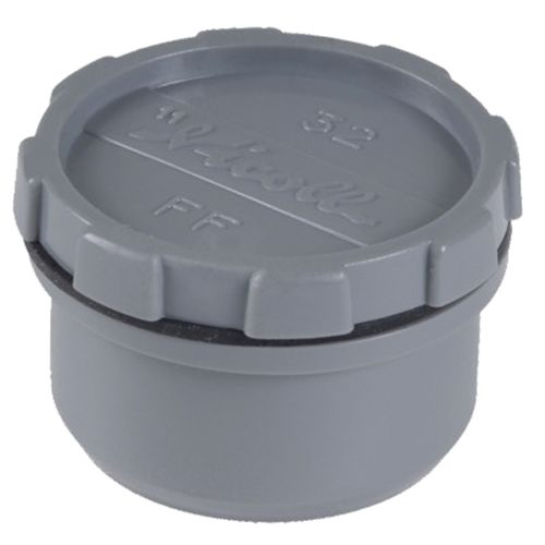 Tampon de visite Ø125mm - NICOLL - FX pas cher