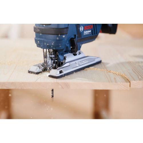 5 lames pour scie sauteuse ''Speed for Wood'' (T144D) - BOSCH - 2608630040 pas cher Secondaire 4 L