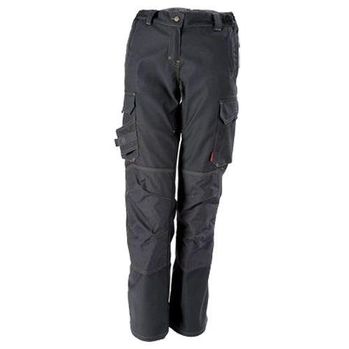 Pantalon de travail femme ITUHA noir taille 4 - LAFONT - LA-1STFCP-4PM-5110-4 pas cher