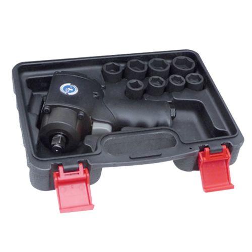 """Coffret de clé à chocs pneumatique 1/2"""" + douilles courtes à chocs 1/2"""" Général Pneumatic GP1313BC photo du produit"""