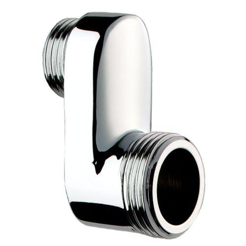 Raccord sanitaire excentré chromé M 1/2'' M 3/4'' L 35 (la paire) - DELABIE - 853327.2P pas cher Principale L