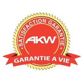 Connecteurs pour rails de douche AKW photo du produit Principale M