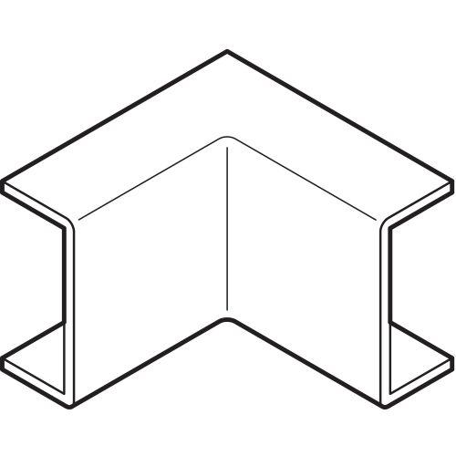 Angle intérieur MS 22X10mm REHAU 265776 photo du produit Principale L