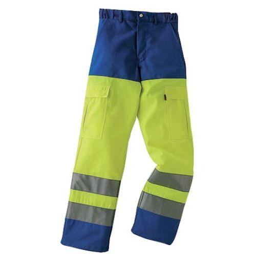 Pantalon haute visibilite jaune/azur 44/46 - LAFONT pas cher Principale L