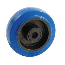Roues polyamide bleu photo du produit