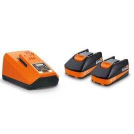 Pack de démarrage Fein 2 batteries 18 V / 3 Ah + chargeur ALG 80 pas cher Principale M