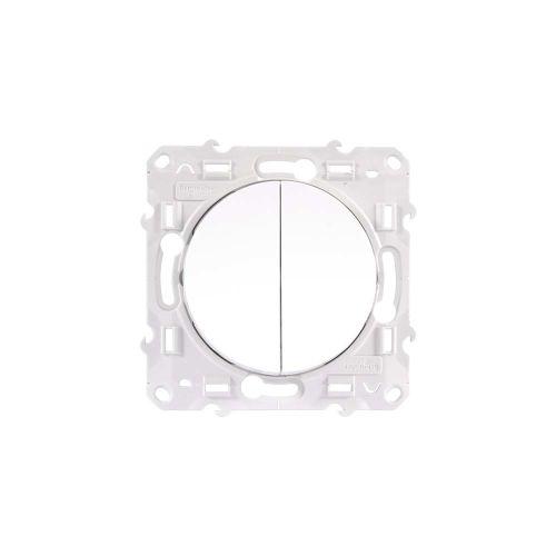 Interrupteurs et poussoirs blancs photo du produit Secondaire 2 L