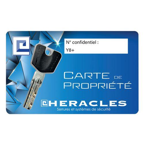 Clé HERACLES Y8 sur numéro photo du produit Secondaire 3 L