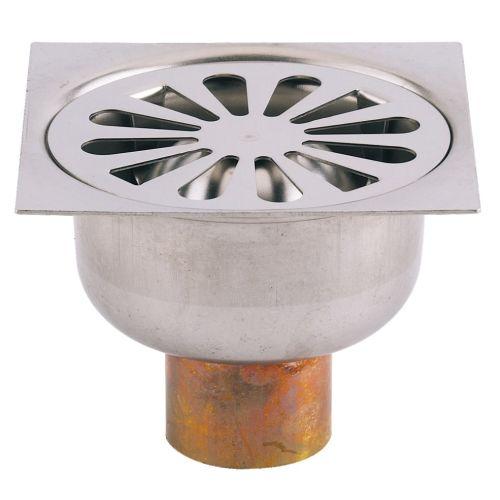 Siphons de sol grille inox photo du produit
