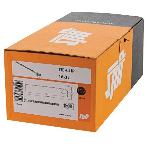 Embase plastique Tie-Clip 16 à 32 mm de diamètre - SPIT - 565844 pas cher Secondaire 1 L
