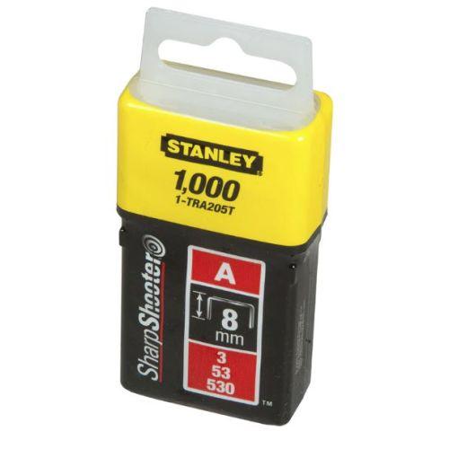 1000 agrafes 8,0 mm type A - STANLEY - 1-TRA205T pas cher Principale L