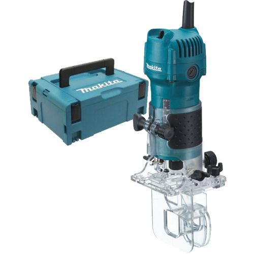 Affleureuse Makita 3710J 530 W + coffret MAKPAC 2 photo du produit