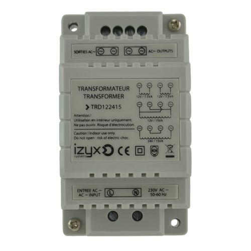 Transformateur rail DIN Izyx TRD122415 photo du produit Secondaire 1 L