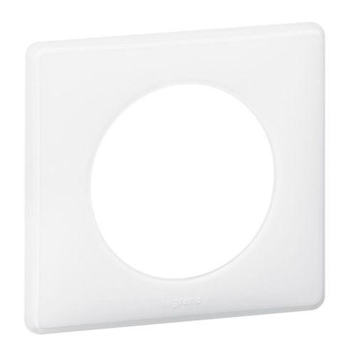 Plaque CÉLIANE N1 3 postes blanc - LEGRAND - 068633 pas cher Secondaire 1 L