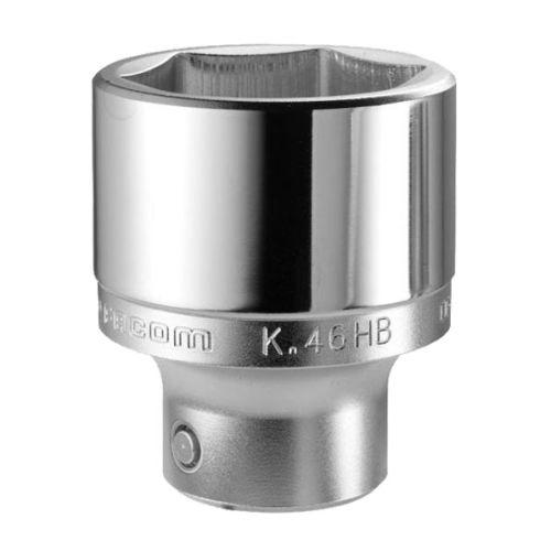 Douille 3/4'' 6 pans métriques diamètre 28,0 mm longueur 52,5 mm - FACOM - K.28HB pas cher