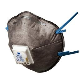 Masque antipoussières spécialisé 3M™ FFP2 avec soupape 9922 photo du produit