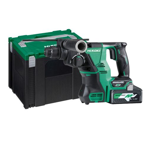 Perforateur-burineur sans-fil SDS+ Hikoki DH36DPAWVZ 36 V + batterie 4 Ah + chargeur photo du produit