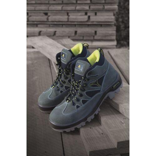 Chaussures de sécurité hautes Auribeau III S1P vert / noir pointure 44 - DELTAPLUS -AURI3SPVN44 pas cher Secondaire 2 L