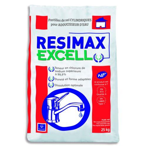 Sel adoucisseur RESIMAX EXCELL photo du produit