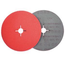 Disque abrasif support fibre 3M™ Cubitron™ II 987C photo du produit Principale M
