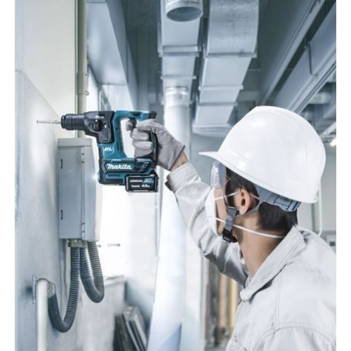 Perforateur SDS+ 10.8V (2x4AH) en coffret MAKPAC - MAKITA - HR166DSMJ pas cher Secondaire 4 L