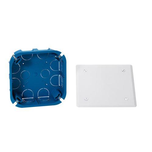 Boîte d'encastrement dérivation pour cloison sèche 120X120mm - SCHNEIDER ELECTRIC - ENN04587 pas cher Principale L