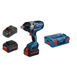 Boulonneuse sans-fil Bosch GDS 18V-1050 H Professional 18 V + 2 batteries 5,5 Ah + chargeur + L-Boxx pas cher Principale M