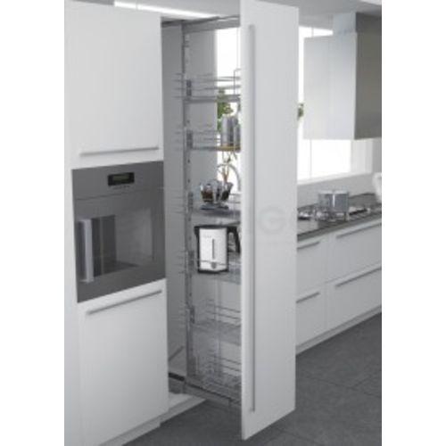 Panier fil chromé pour armoire coulissante 300 mm - SIGE SPA - 251-300 pas cher Secondaire 1 L